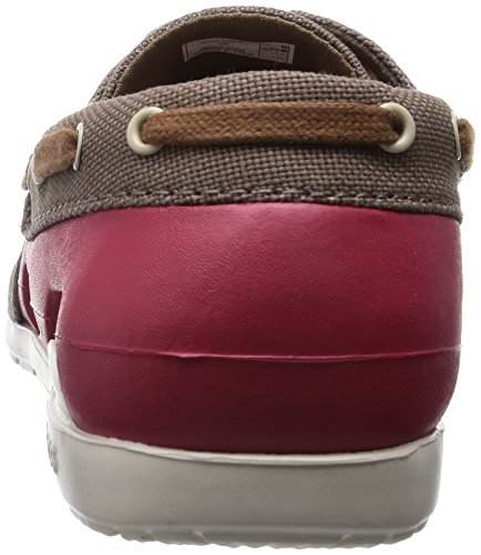CROCS - Crocs Beach Line Lace up Boat -Homme - couleur : Khaki