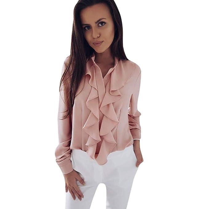 Amazon.com: Aniywn - Blusa de manga larga para mujer, estilo ...