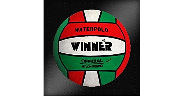 Winner - Balón de Waterpolo (tamaño 5), Color Verde y Blanco ...