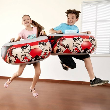 Jumbo Sumo Match bumpers - Inflatable for Indoor/Outdoor use [並行輸入品]   B07DQGGWVZ