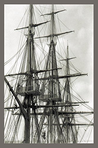 Rigging Of The Uss Constitution Photo Poster 20
