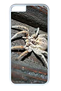 iphone 6 4.7inch Case and Cover Large Spider Animal PC case Cover for iPhone 6 White