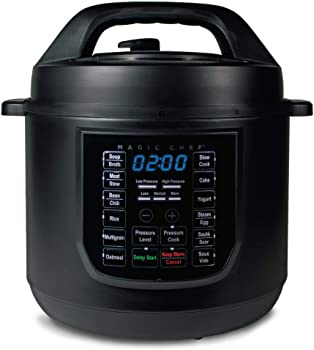 Magic Chef 6 Qt. 9-in-1 Multi Function Pressure Cooker