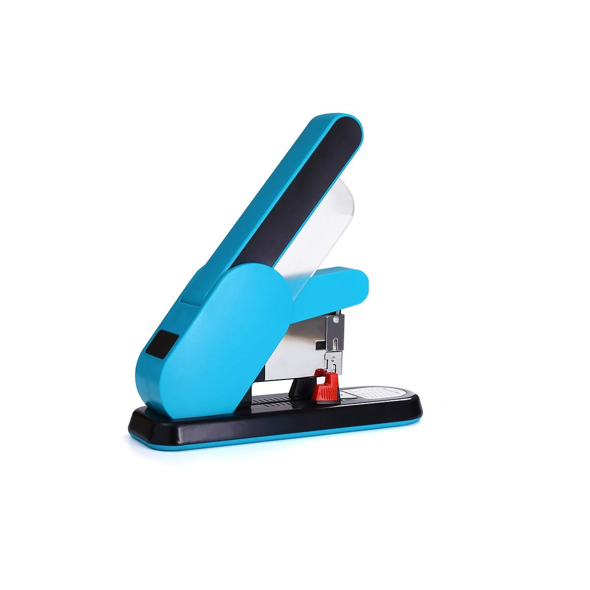 Shengshihuizhong Labor-Saving Stapler, Heavy-Duty Large Stapler, Staple Stapler, Desktop Large-Scale Heavy-Duty Binding Machine, Standard Multi-Functional Office Supplies, Orange, Blue Grapadora,