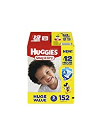 HUGGIES Snug & Dry Diapers, Size 5, 152 Count BOBEBE Online Baby Store From New York to Miami and Los Angeles