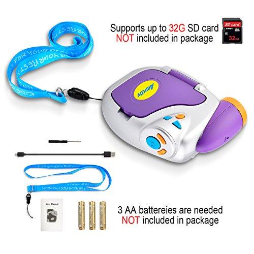 Digital Video Camera for Kids, AMKOV Kids Camcorder, 1.44 Inch Full-Color TFT Display Kids Camera by AMKOV (Image #1)