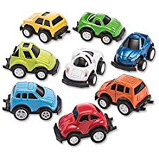 Mini Diecast Pullback Cars Great Easter Eggs Fillers or Stocking Stuffers in Assorted Fun Colors and Styles.