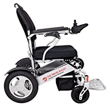 The Travel Buggy - Portable Electric Wheelchair - Lightweight & Foldable - Large Wheels