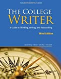 the college writer a guide to thinking writing and researching 2009 mla update edition 2009 mla update editions by randall vandermey 2009 06 17