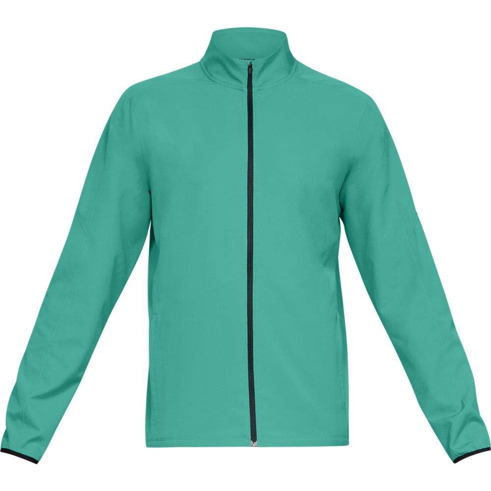 Under Armour Men's Storm Out & Back Jacket, Green Malachite, Small