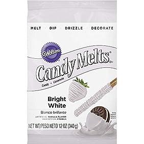 Wilton 1911-1300 Candy Melts, Bright White