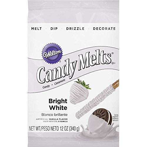 Wilton 1911-1300 Candy Melts, Bright White