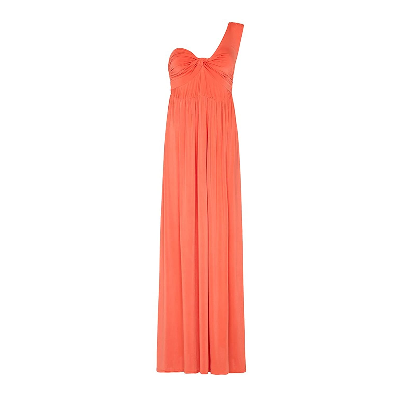 Anastasia - Slinky eine Schulter Maxi Kleid