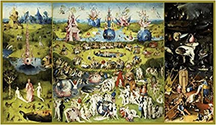 c7fc1c9698f Image Unavailable. Image not available for. Color  Posters  Hieronymus  Bosch Poster Art Print - The Garden of Earthly Delights ...