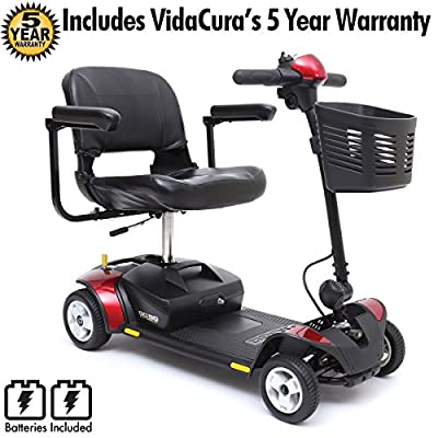 Go-Go Ultra X 4-Wheel Travel Mobility Scooter Including 5 Year Ext. Warr.