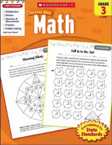 Scholastic Success with Math, Grade 3 (Scholastic Success with Workbooks: Math)
