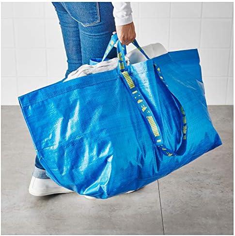 tama/ño grande 172.283.40 Frakta IKEA. color azul Bolsa de compras