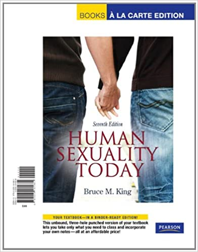 Human sexuality books a la carte edition