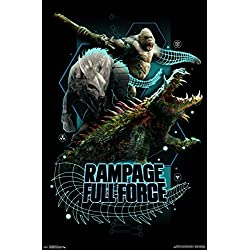 "Trends International Rampage - Full Force Wall Poster 22.375"" x 34"" Multicolor"