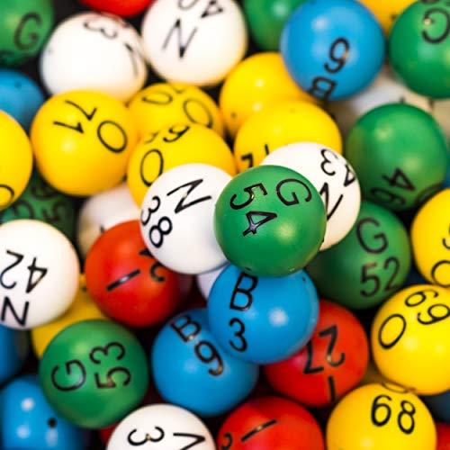 - MR CHIPS Easy Read Professional Bingo Balls