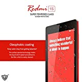 Moarmouz Super Tempered Glass Screen Protector For Xiaomi Redmi 1S - Screen Guard With Oleophobic Coating & Shatterproof Screen Shield Screen Guard Guaranteed Quality 9H Hardness
