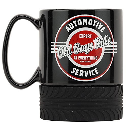 Open Road Brands Old Guys Rule Automotive Ceramic 16 oz. Mug