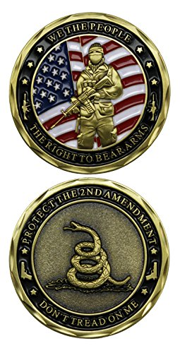 2ND Amendment We The People, The Right To Bear Arms Challenge Coin