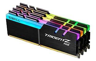 G.SKILL 32GB (4 x 8GB) TridentZ RGB Series DDR4 PC4-30900 3866MHz Desktop Memory Model F4-3866C18Q-32GTZR