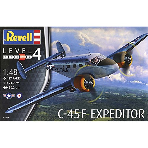 Revell Of Germany C 45F Expeditor Model Kit