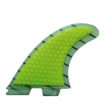 YQ Tablas De Surf Fins Honeycomb Fibra De Vidrio Junta De Surf Aletas G5 Surf Fins