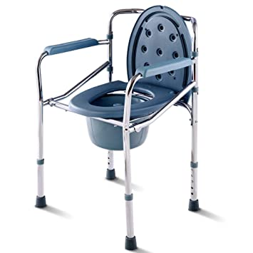 Toilet Chair with Bucket Handicap Toilet Potty Chair Portable Over Toilet Bathroom for Toilet Adult Toileting  sc 1 st  Amazon.com & Amazon.com: Toilet Chair with Bucket Handicap Toilet Potty Chair ...