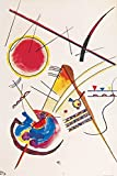 Wassily Kandinsky Poster Adhesive Photo Wall-Print - Watercolour from The Hess Guestbook, 1925 (71 x 47 inches)