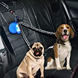 U-pick Double Dog Leash Seatbelt Dog Seat Belt