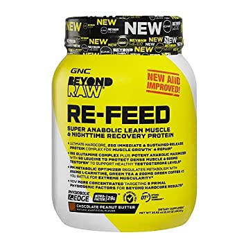 Amazon com: GNC Beyond Raw Re-Feed, Chocolate Peanut Butter