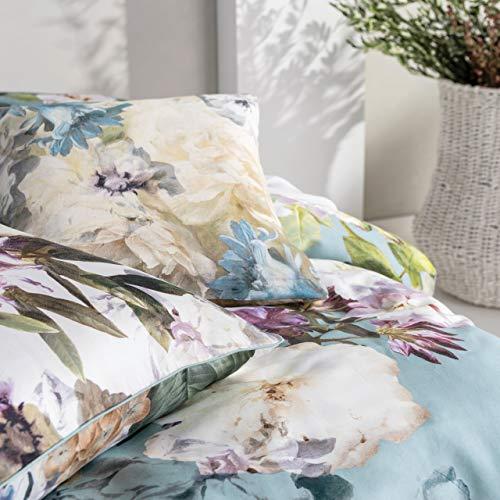 linen house Lena Housse de Coussin Multicolore 45 x 45 cm