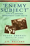 Front cover for the book Enemy Subject No.20/61 (Biography, Letters & Diaries) by Peggy Abkhazi