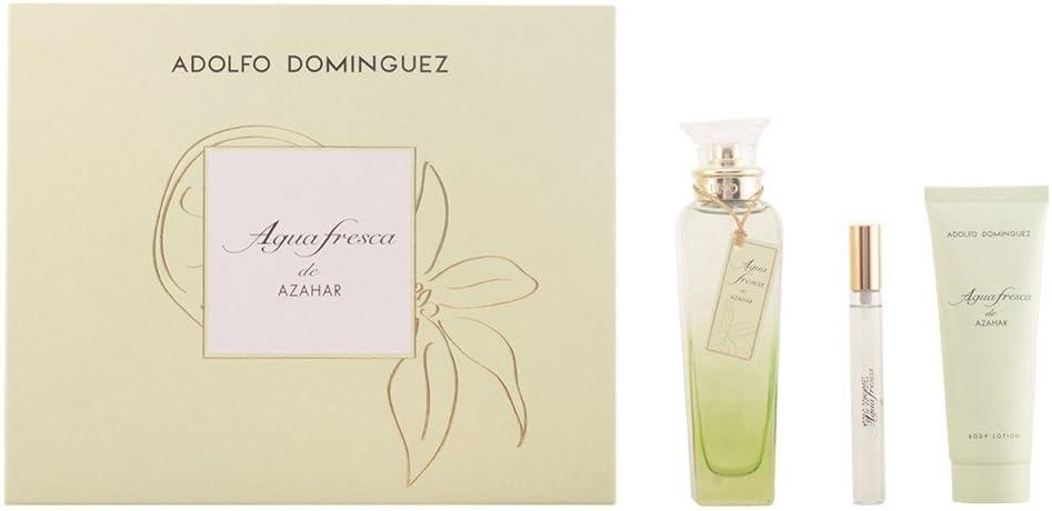 Adolfo Dominguez Agua Fresca Azahar Set - 3 Unidades: Amazon.es: Belleza