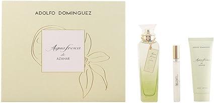 Adolfo Dominguez Agua Fresca Azahar Set 3 Unidades