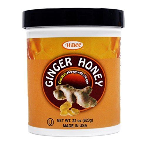 HIBEE Ginger Honey_22oz