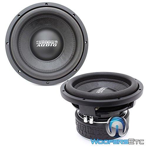 Two SA-10 D2 REV.3 – Sundown Audio 10″ Dual 2-Ohm 750W RMS SA Series Subwoofers