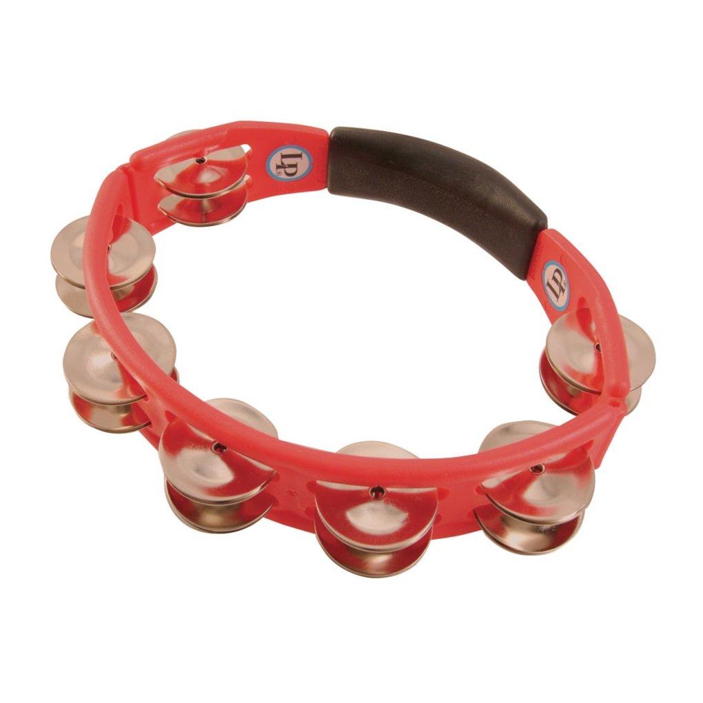 LP151 Cyclops, Steel Jingles, Red, Hand Held Tambourine