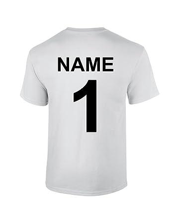 S.B.J - Sportland T-Shirt aus Baumwolle mit Rückennummer und Name ...