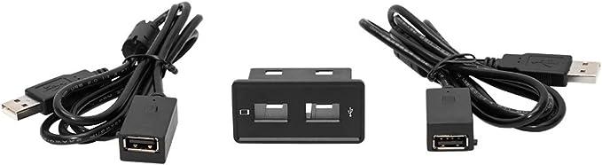 Dynalink Dvn Usbg7 Autoradio Usb Medien Buchse Adapter Kable Für Vw Golf 7 Passat B8