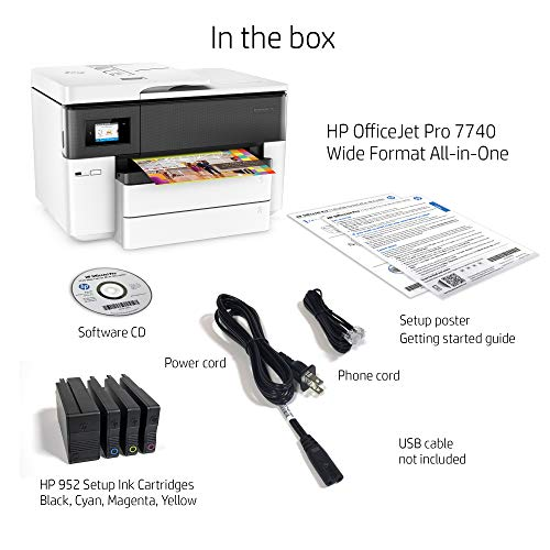 HP Pro Wide Format Printer with Wireless & & Amazon ready