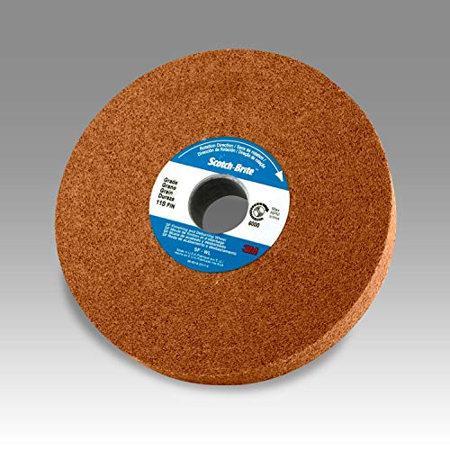 Scotch-Brite 33845 Roloc EXL Unitized Wheel TS, 1.5 in x NH 6A MED, Tan