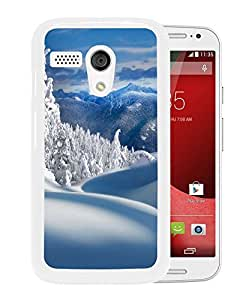 Fairy Snow Forest Field (2) Durable High Quality Motorola Moto G Phone Case