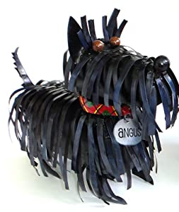 Spiky Scottie Dog Sculpture