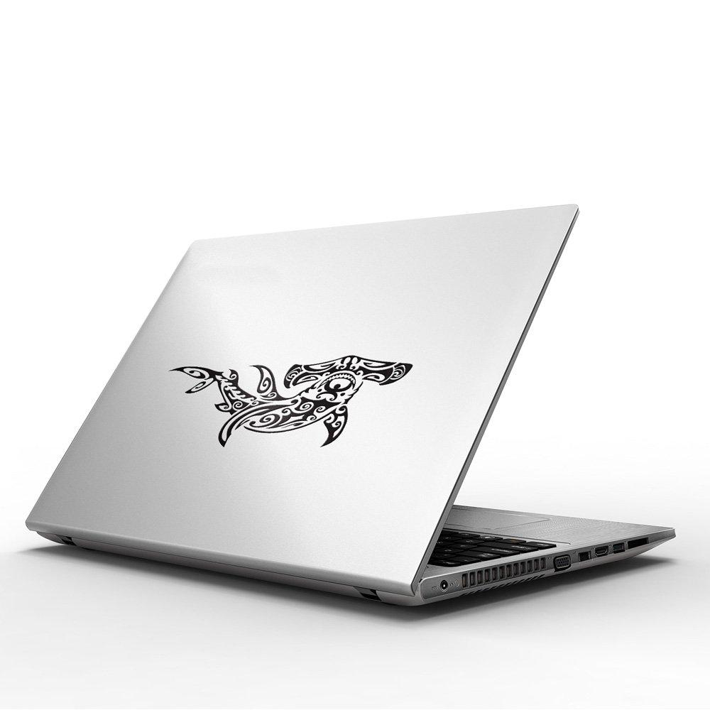 Tribal Hammerhead Shark Calcoman/ía de Vinilo para Macbook //Ordenadore//Guitarra Macbook 13 pulgadas o Macbook 15 pulgadas