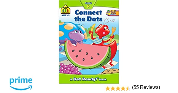 Preschool Workbooks 32 Pages-Connect the Dots (Get Ready Books ...