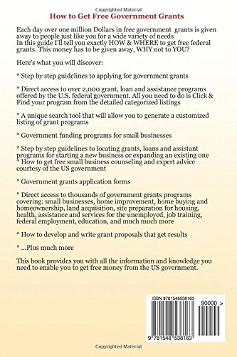 How to Get Free Government Grants - A Step by Step Guide for